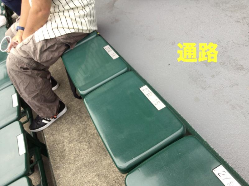 甲子園楽楽シート座席